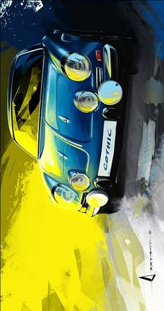 Retro Cars Art Illustrations Ideas For 2019 Car Design Sketch, Car Sketch, Alpine Renault, Up Auto, Car Accessories Diy, Supercars, Car Drawings, Doodle Drawings, Car Illustration