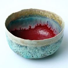 Large Red Teabowl