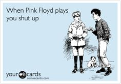 Oh. My. God. Yes.  Why do people not get this??  Pink Floyd and the Beatles.  Stfu people. Lol