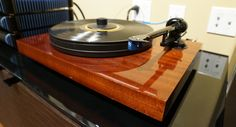 Pro-Ject turntable. Beautiful!