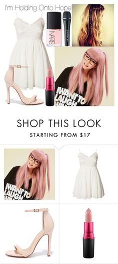 """""""Holding Onto Hope /// Chae's First Performance"""" by moonlight-princess-of-the-stars on Polyvore featuring GABALMANIA, Jeane Blush, Liliana, MAC Cosmetics, Sennheiser and NARS Cosmetics"""