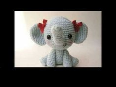easy crochet elephant projects - YouTube