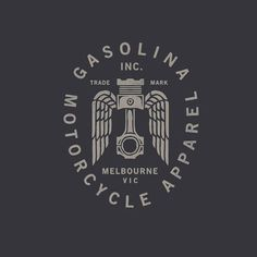 "420 Likes, 5 Comments - Pedro Oyarbide (@pedroyarbide) on Instagram: ""Working on some apparel graphics for Gasolina Inc #piston #gasolinainc #melbourne #motorcycle…"""