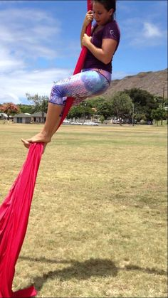 Aerial Silks for Beginners: How to do the Traditional Climb