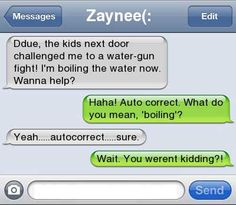 Water Gun Fight...i'll have to do this next time.