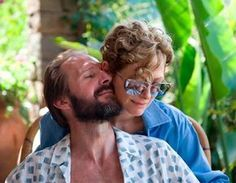 "An aging rock star's respite in the Mediterranean is interrupted by an old lover in A Bigger Splash. John Powers calls the film, which stars Tilda Swinton and Ralph Fiennes, a ""gripping slow-burn. Burn Film, John Power, Ralph Fiennes, Slow Burn, Tilda Swinton, Patti Smith, Come Undone, Cinema Film, Rolling Stones"