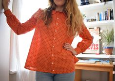 BHL x Sprout Patterns: A cut & sew Sarah Shirt!
