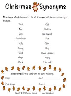 math worksheet : synonyms and antonyms worksheet  2nd grade learning  pinterest  : Synonyms For Kindergarten Worksheets