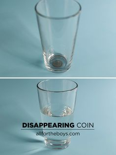 Disappearing (and reappearing) coin trick! So easy you could show the kids tonight!
