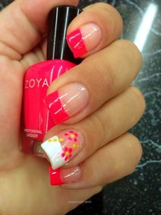 summer nail design for 2014   Hair and Nail Design