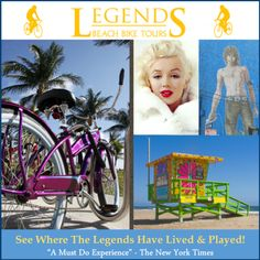 LEGENDS BEACH BIKE TOURS: For more information, visit www.PerrysCafe.com!