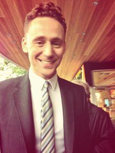 *sigh* Hiddles circa TIFF '13 *swoon* I LOVE that tie! ♡♡