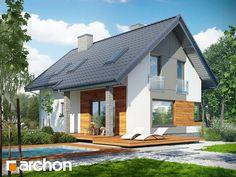Dom w żurawkach 2 Plan General, Home Fashion, Gazebo, Outdoor Structures, Exterior, House Styles, Outdoor Decor, Design, Home Decor