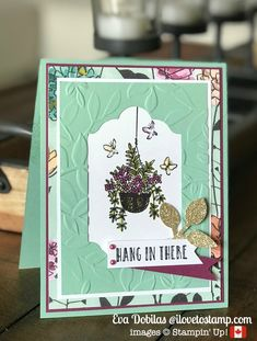 Hello, welcome to a new week! Today I am sharing a card I created for a friend, who needed a hug and all I could think of is creating a card for her and the Hanging Garden stamp set came to my mind. It just had the perfect message and also the sweet images. I … … Continue reading →