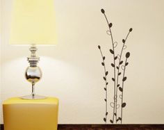 Tree Wall Decal Cherry Blossom Branch 3 by singlestonestudios