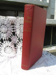 Mrs. Miniver  Signed First Edition 1940 by MbellishVintage on Etsy, $75.00