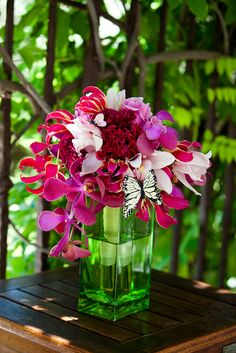pink wedding flowers | San Martin Wedding Flowers, Hot Pink Bridal Bouquet | Flickr - Photo ...- For more amazing finds and inspiration visit us at http://www.brides-book.com and join the VIB Ciub