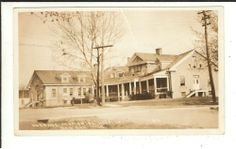 MICH RPPC Hospital Bad Axe Michigan Real Photo Postcard
