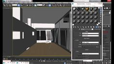3ds max - Mental Ray Iluminacion Interior