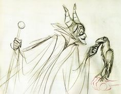 Milt Kahl Maleficent