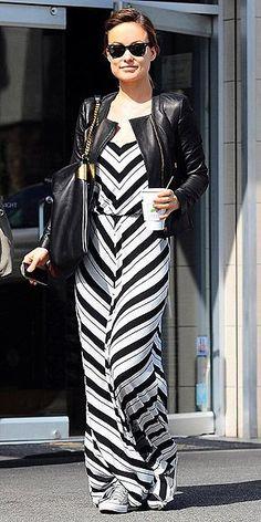 7e9180da549c Olivia Wilde in Ella Moss Ringo Dress