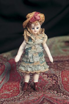 View Catalog Item - Theriault's Antique Doll Auctions - brown boots