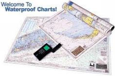 Waterproof Standard Navigation Charts. Navigation Charts, Sailing Gear, Boat Stuff