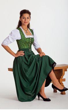 Chiemseer Dirndl & Tracht Online Shop-Blusendirndl Klostertal, ohne Schürze