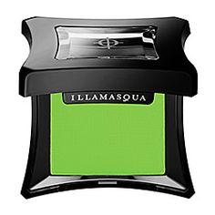 Illamasqua - Powder Eye Shadow in Pivot - yellow green  #sephora