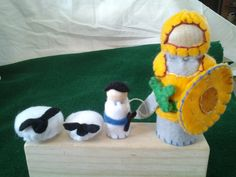David and Goliath Godly Play Set Bible Play by sugarplumhollow