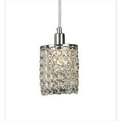 Illumine - 1 Light Ceiling Pendant Clear Finish - CLI-BIKS12 - Home Depot Canada $132.00
