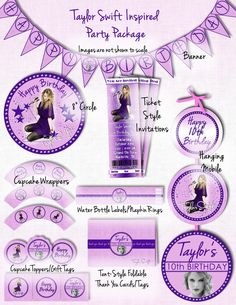 88 Best Taylor Swift Party Ideas Images Ideas Party Birthday