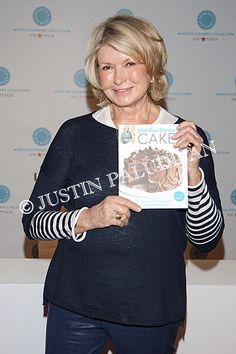 Martha Stewart hosts a book signing for her book 'Martha Stewart's Cakes: Our First-Ever Book of Bundts, Loaves, Layers, Coffee Cakes, and more' at Macy's Las Vegas Home Store on March 12, 2014 in Las Vegas, Nevada.