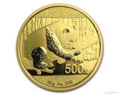 30 g 2016 Chinese Panda Gold Coin