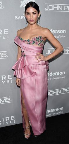 Jenna Dewan Tatum in Marchesa  attends the 5th Annual Baby2Baby Gala. #bestdressed