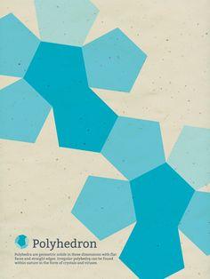 Megan Emma Moore a créé ces affiches qui illustrent des concepts mathématiques, elles sont disponibles ici.