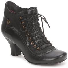 017ecea2599 Hush puppies VIVIANNA Noir pas cher prix promo Boots Femme Spartoo 119.00 €  Chaussure Pas Cher