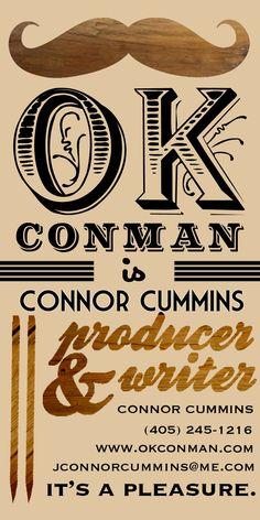 Logo designed for writer Connor Cummins.