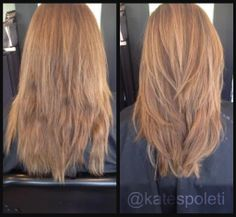 Highlights, Long layered hair. Blonde hair. blonde highlights, warm highlights, before and after