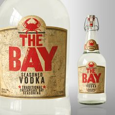 """The Bay Seasoned Vodka The secret to many fine Bloody Marysis a bit of Old Bay Seasoning. (It's also a key element in Maryland's signature steamed crabs.) Now you can save a step by using The Bay Seasoned Vodka in your Mary, which is flavored with non-copyright-infringing """"traditional Chesapeake Bay seasoning."""" It's unlike any vodkawe've ever tasted, with a heavy consistency and plenty of spice"""