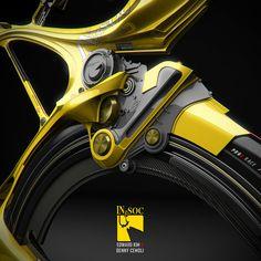 Ride style bike concept