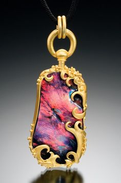 Lilly Fitzgerald Opal Pendant - I'm not much on jewelry, but this is beautiful.