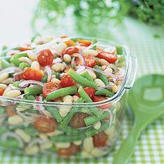 Two-Bean Salad | MyRecipes.com