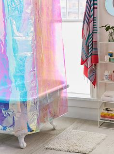 10 Pretty Shower Curtains To Makeover Your Bathroom+#refinery29