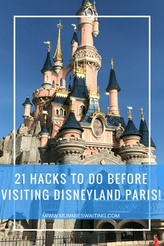 If you've booked a trip to Disneyland Paris, then you're probably wondering what you need to do next. Check out these 21 things you need to do before visiting Disneyland Paris and get the most out of your magical trip. Disneyland Paris Castle, Disneyland Tips, Disneyland Christmas, Disneyland California, Paris Travel, France Travel, Disney Vacations, Disney Trips, Disney Parks