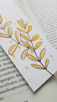 Creative Bookmarks, Paper Bookmarks, Watercolor Bookmarks, Watercolor And Ink, Watercolor Paintings, Simple Watercolor, Tattoo Watercolor, Watercolor Trees, Watercolor Animals