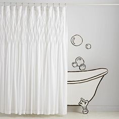 Frayed Ruffle Shower Curtain Little Girls Bathroom Pinterest Lush The O 39 Jays And Composition