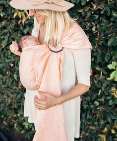 Wildbird.co Love this light pink ring sling