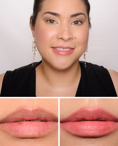 """NARS Anna Audacious Lipstick on Temptalia. """"Described as a """"smokey rose."""" It's a cool-toned, muted, medium-dark pink with a semi-matte finish."""" [This is almost an exact dupe (on me, anyways) for Bite Beauty in rhubarb. Kat Von D, Maybelline, Bite Beauty, Pink Lady, Daiquiri, Matte Lip Color, Lip Colors, Nude Color, Blush Color"""