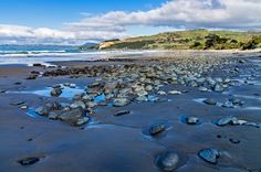 Karitane Beach, Otago, New Zealand, Copyright Chris Gregory 2012 The Beautiful Country, Old Houses, Art Boards, New Zealand, Seaside, Old Things, Boat, Earth, Places